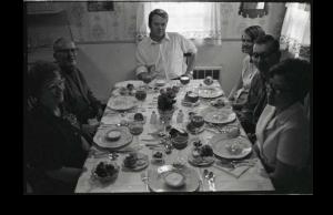 Family Celebrates Thanksgiving